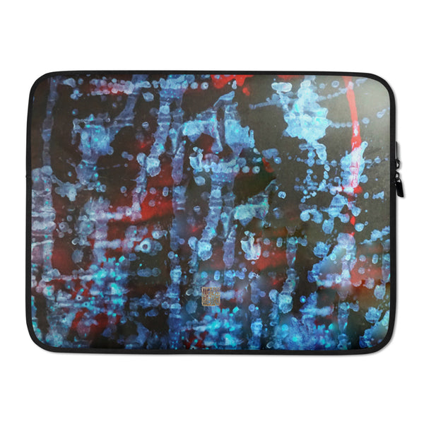 """Orchestra of Life 3 of 3""- 13""/15"" Snug Fit Stylish Art Laptop Sleeve-Printed in USA - alicechanart"