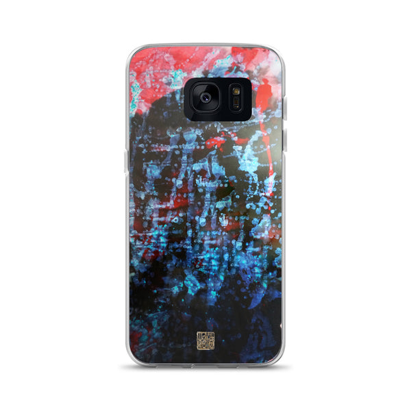 Orchestra of Life 3 of 3, Chinese Abstract Ink Art Designer Samsung Case, Made in USA - alicechanart