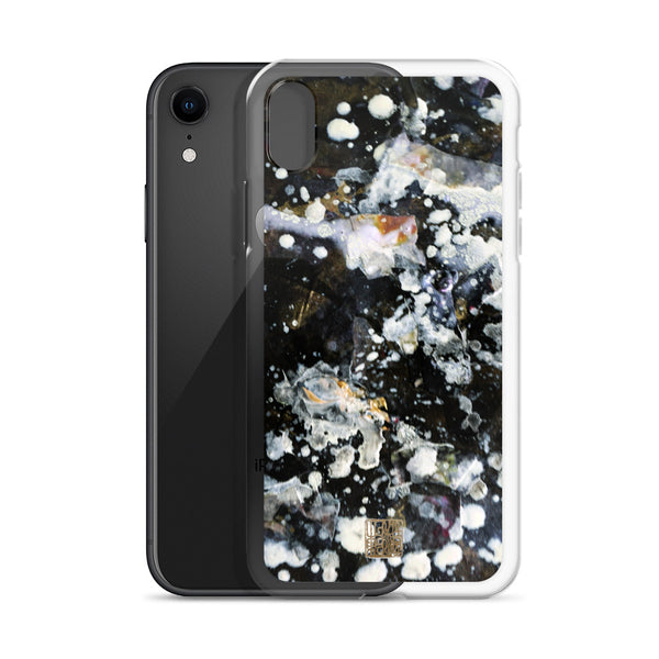 Galaxy iPhone Cases, The Silver Galaxy of Life's Forces, Chinese Art Phone Case- Made in USA/ EU - alicechanart