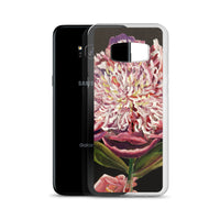 Chinese Peony Hybrid, 2018, Floral Print Designer Art Samsung Case- Made in USA/EU - alicechanart