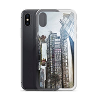 """Wanchai Street Scene"", Hong Kong Souvenir,  iPhone 7/6/7+/ 6/6s/ X/XS/ XS Max/XR Case, Made in USA - alicechanart"