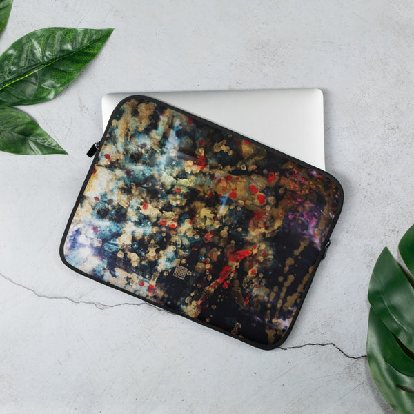 Orchestra of Life 1 of 3-Abstract Art Print Laptop Sleeve - 15 in/ 13 in-Printed in USA/ Europe
