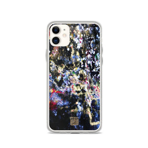 Galaxy Phone Case, The Golden Galaxy of Life's Forces, Abstract iPhone Case- Made in USA/ EU - alicechanart