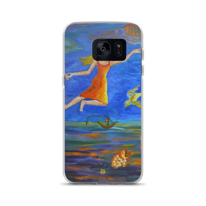 Angels From Heaven, Samsung Galaxy S7, S7 Edge, S8, S8+, S9, S9+ Phone Case, Made in USA - alicechanart