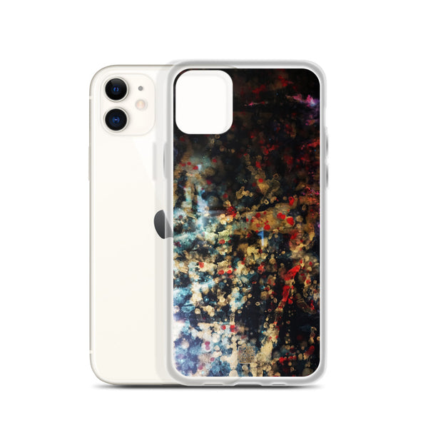 Orchestra of Life 1 of 3, Abstract Modern Chinese Ink Print iPhone Case, Made in US, iPhone 7/6/7+/ 6/6s/ X/XS/ XS Max/ XR/ 11/ 11 Pro/ 11 Pro Max Phone Case, Made in USA