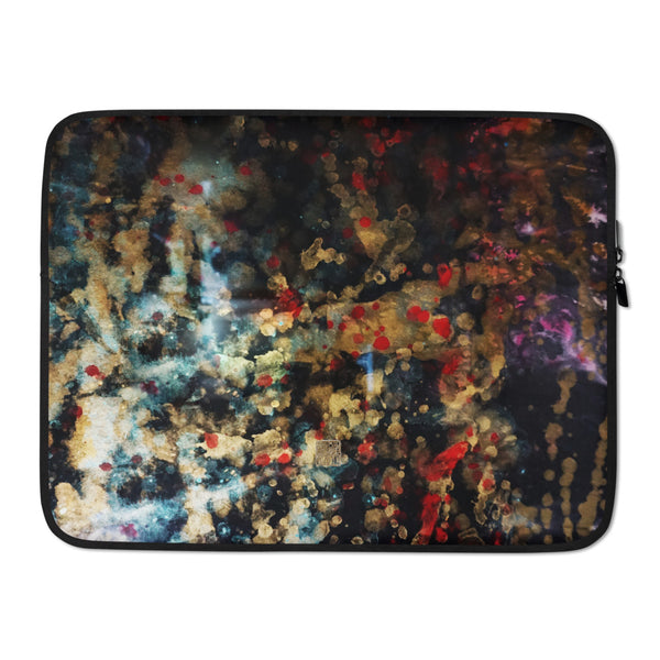 Orchestra of Life 1 of 3-Abstract Art Print Laptop Sleeve - 15 in/ 13 in - alicechanart