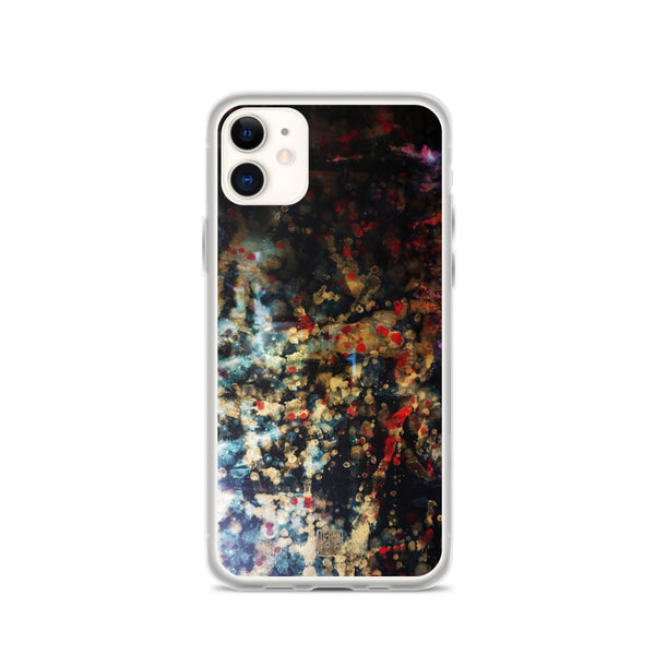 Orchestra of Life 1 of 3, Modern Chinese Ink Art Print iPhone Case, Made in USA - alicechanart