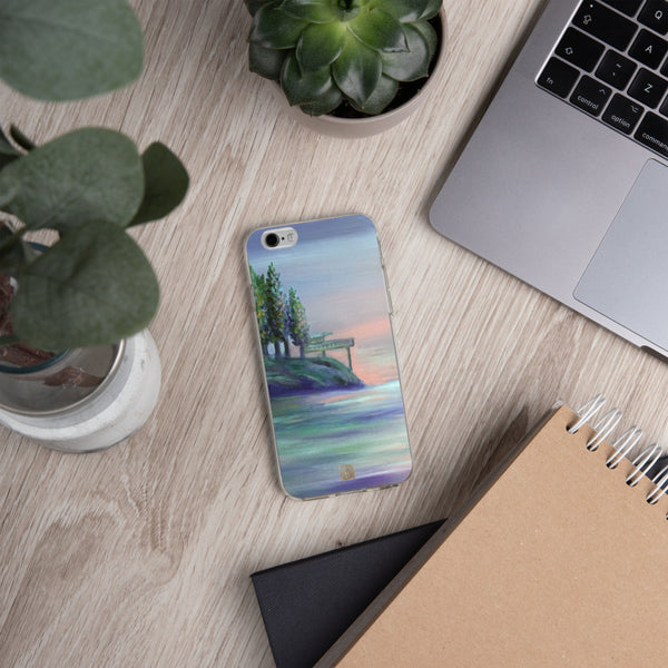 West Seattle, Pacific Northwest iPhone Case, Made in USA - alicechanart