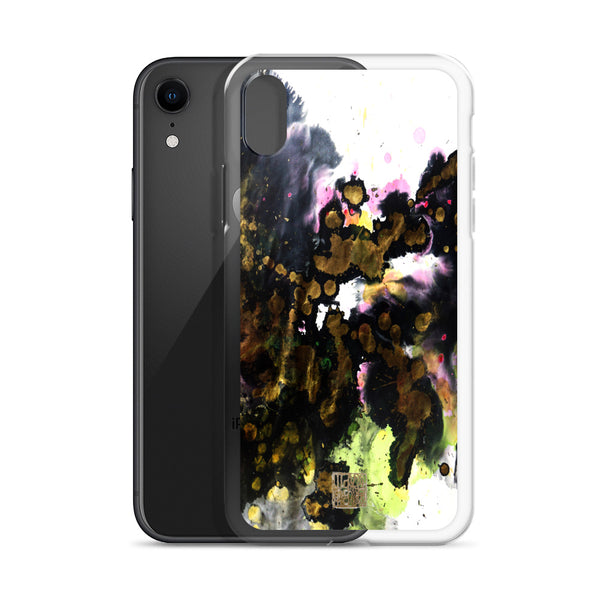 White Black Chinese Ink Abstract Art Print iPhone Case- Made in USA/ EU - alicechanart