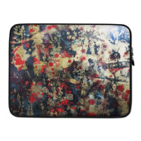 Orchestra of Life 2 of 3, Contemporary Chinese Art Abstract Laptop Sleeve - 15 in/ 13 in - alicechanart