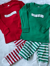 Load image into Gallery viewer, Holiday PJ Pajama Set