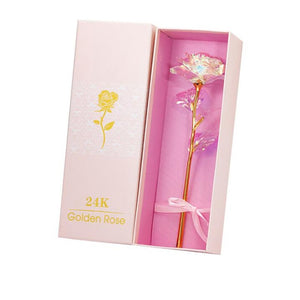 Rose Eternelle en Or 24K - Édition Diamant - Madeofrose Ours En Rose