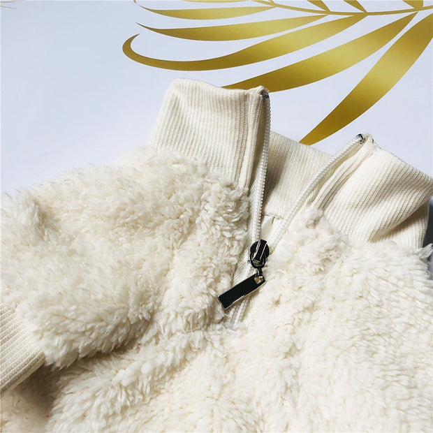 Pucci Sherpa Fleece Pull Over