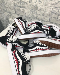 Shark teeth Vans