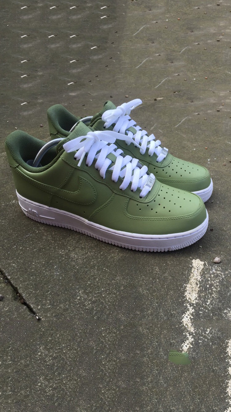 Khaki Nike Air Force 1 '07 Low