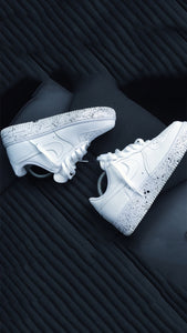 White Oreo Nike Air Force 1 '07 Low