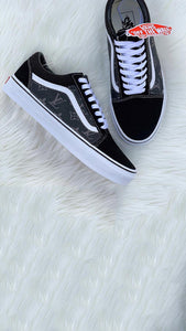Grey Louis Vuitton Vans