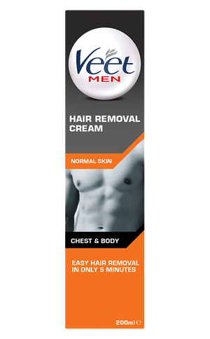 Body & Chest Hair Removal Cream for Normal Skin 200ml