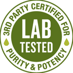 Image of Verified and Tested by 3rd Party Labs