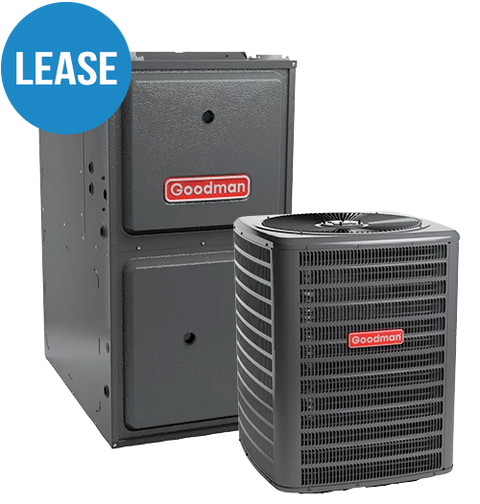 GMEC96 Two-Stage Gas Furnace + GSX 13 Goodman Air Conditioner - Lease*