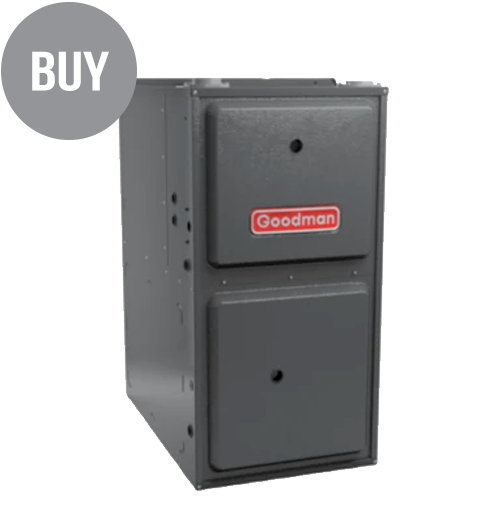 GMEC96 Two-Stage Gas Furnace High-Efficiency, Multi-Speed ECM Up Flow/Horizontal
