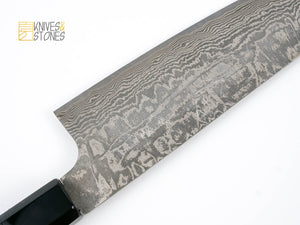 Shinko Kurokumo R2 Damascus Gyuto 210mm by Shiro Kamo