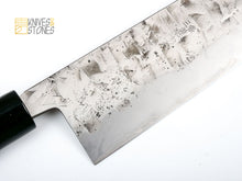 Load image into Gallery viewer, Yoshimune Sanjo White 2 Stainless Clad Gyuto 240 mm Hammered Finish