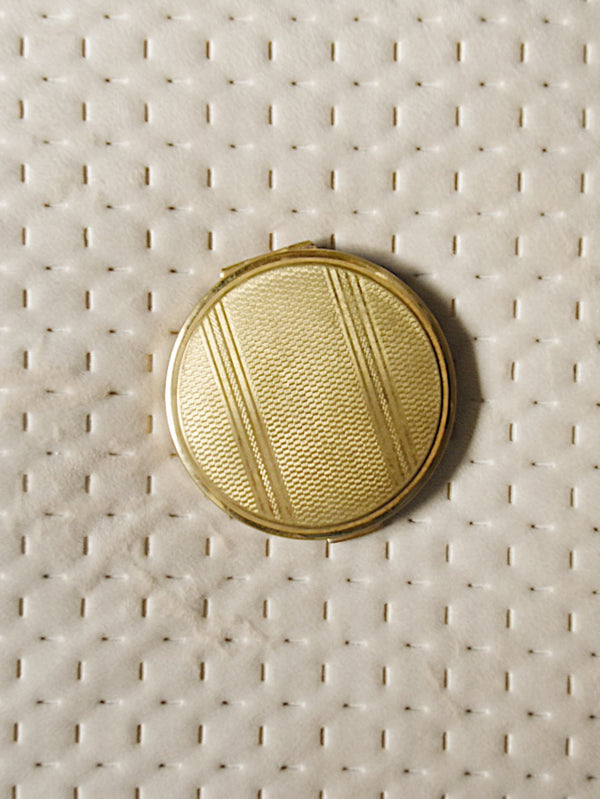 Vintage Brass Compact
