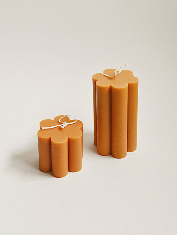 Daisy Soy Candle Mustard Yellow