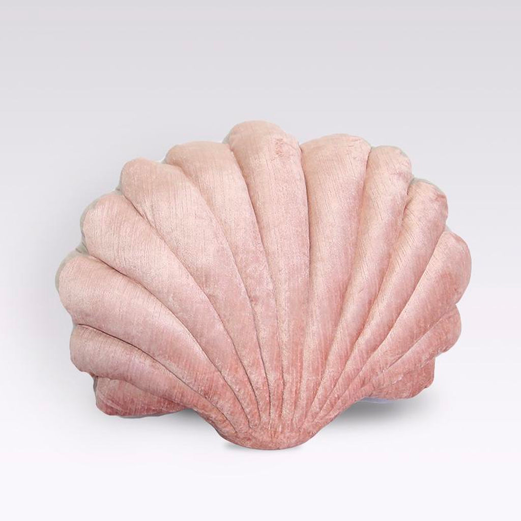 Shell Pillow - Coral