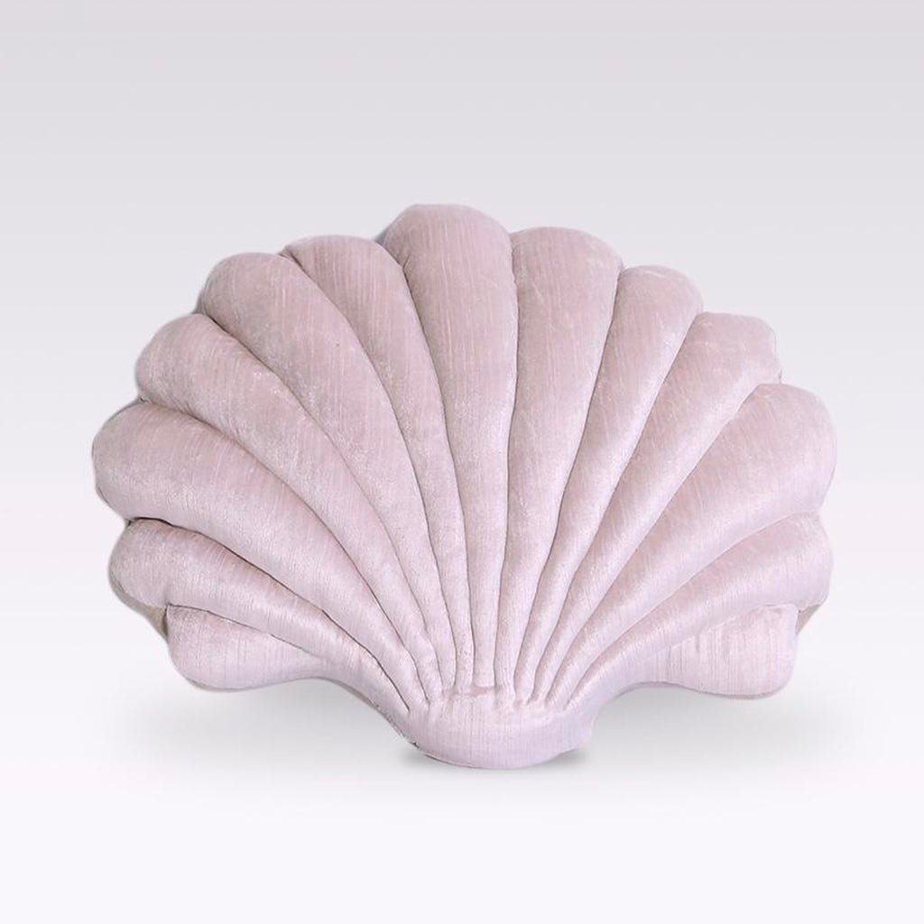 Shell Pillow - Mauve