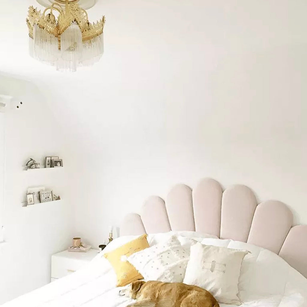 Shell Headboard - Blush