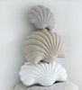 *Linen* Shell Pillow- Lavender