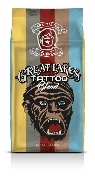 Great Lakes Tattoo Blend from Dark Matter Coffee