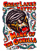 MARK OF THE GORILLA PRINT