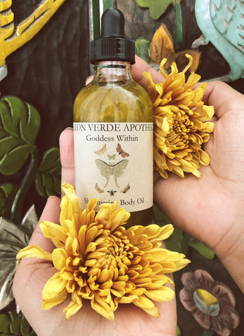 Goddess Within Body Oil