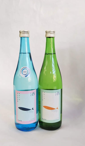 Watanabe Shuzojo, Sake which matches with Ayu Daiginjo & Junmai 2 bottles