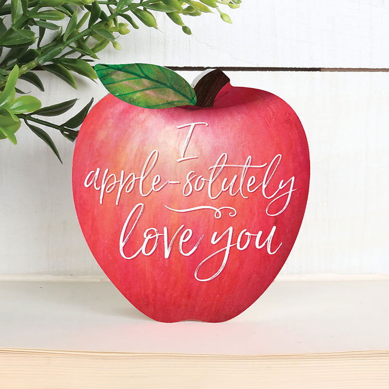 I Apple-Solutely Love You, Apple Shaped Art