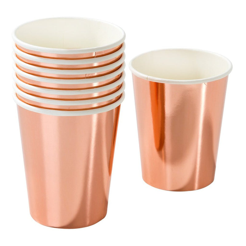 Rose Gold Party Porcelain Cup
