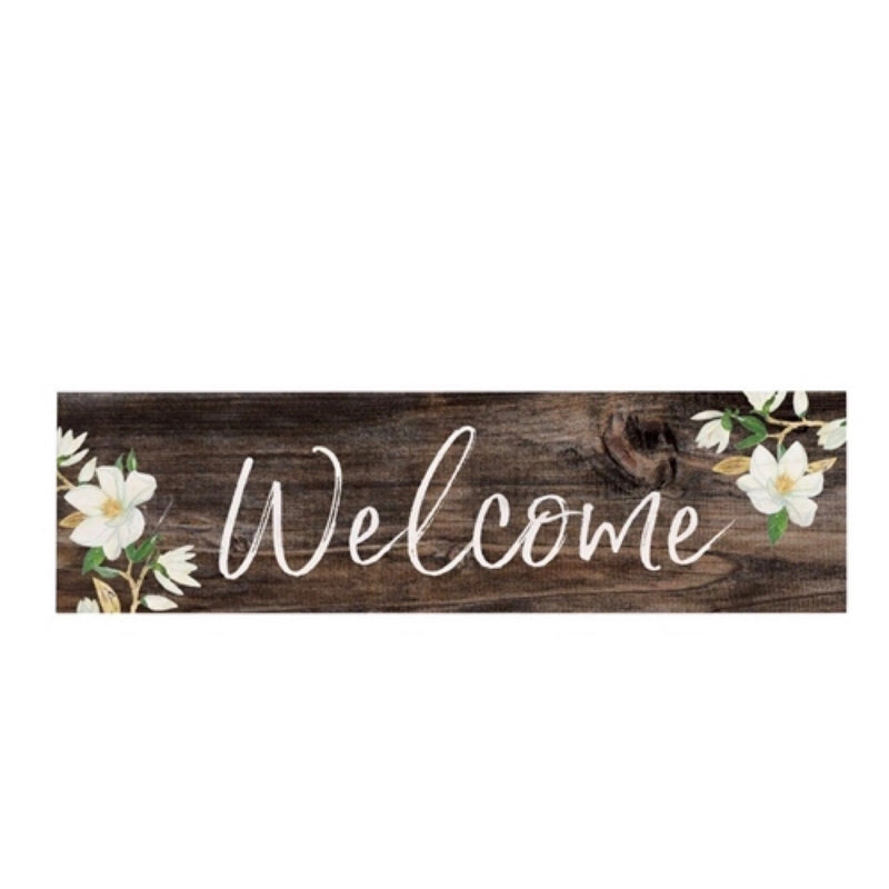 Welcome - Small Wood Sign