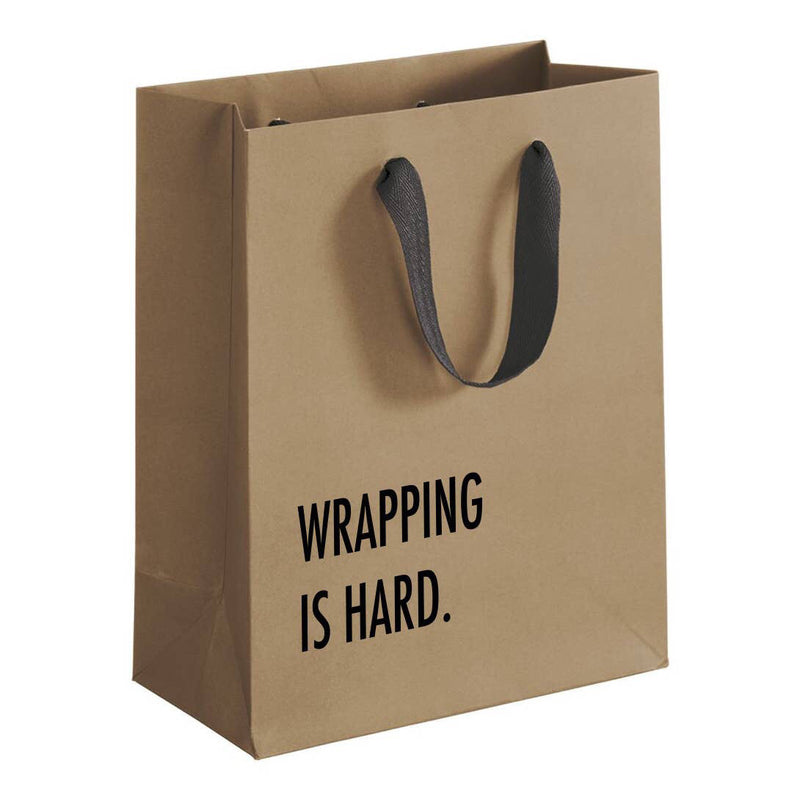 Wrapping is Hard Gift Bag
