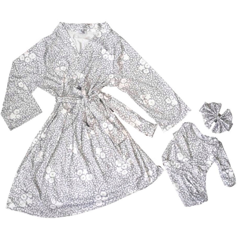 Mommy & Baby Robe and Gown Gift Set - Lynn