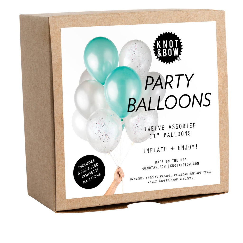Party Balloons - Mermaid set of 12