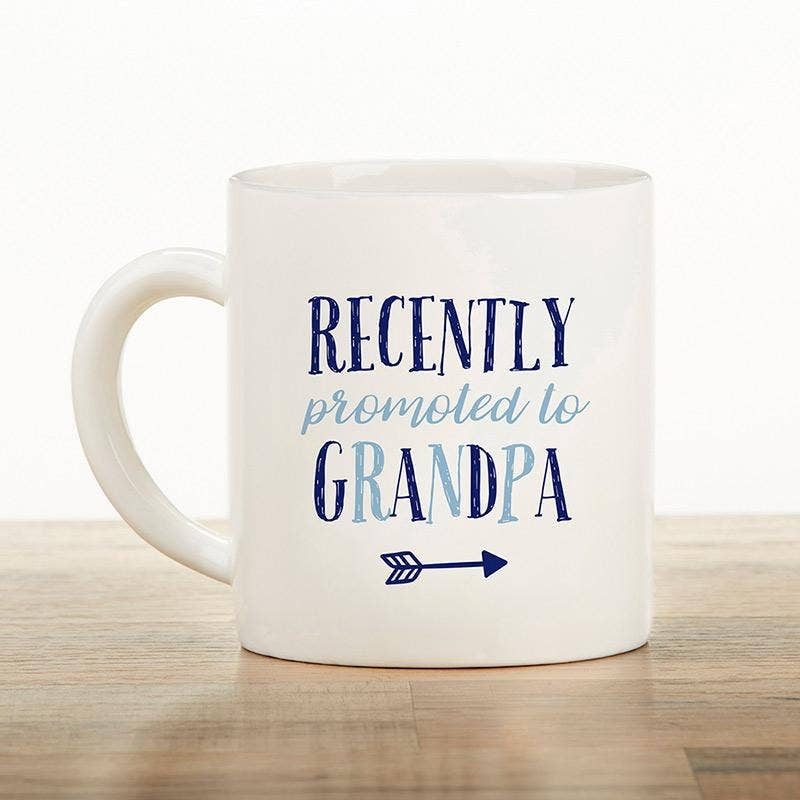Recently Promoted to Grandpa Mug