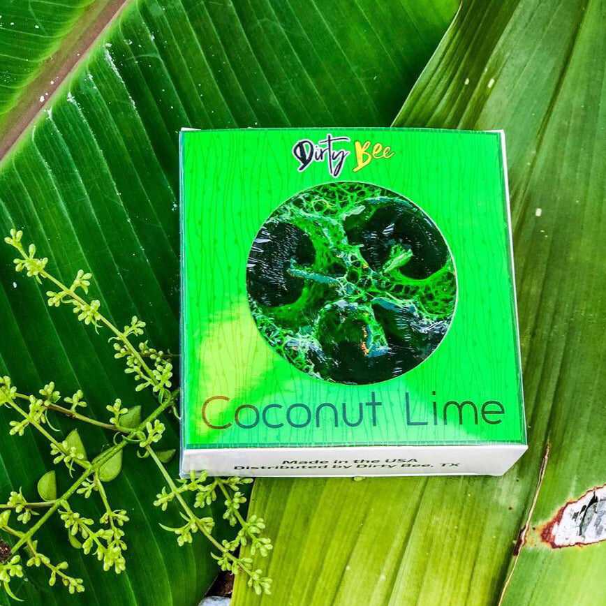 Loofah Soap - Coconut Lime