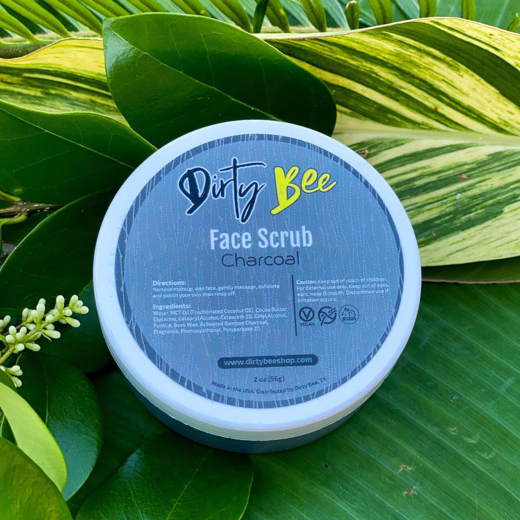 Face Scrub - Charcoal