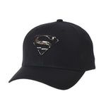 Superman Shield Baseball Cap Camouflage Pattern Cotton Hat
