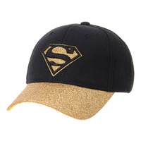 Superman VS Batman Shield Glittering Brim Baseball Cap