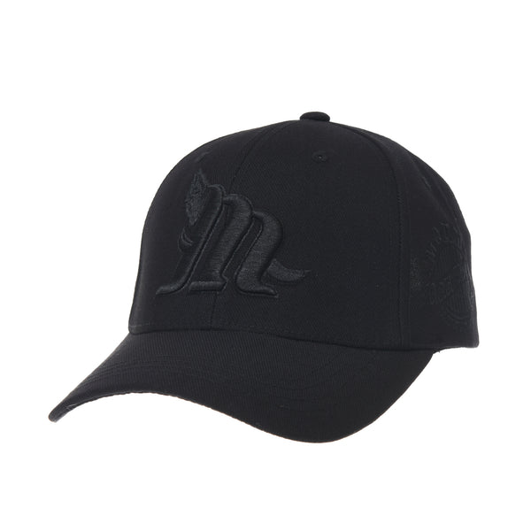 Cotton Baseball Cap Simple Ballcap M Lettering Embroidery