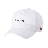 Cotton Baseball Cap Simple Ballcap Brookside Embroidery